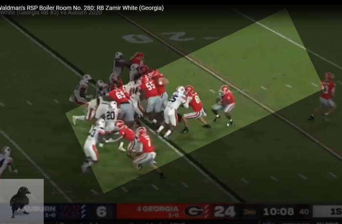 Matt Waldman's RSP Boiler Room: RB Zamir White (UGA) Has the Foundation for a Pro Career