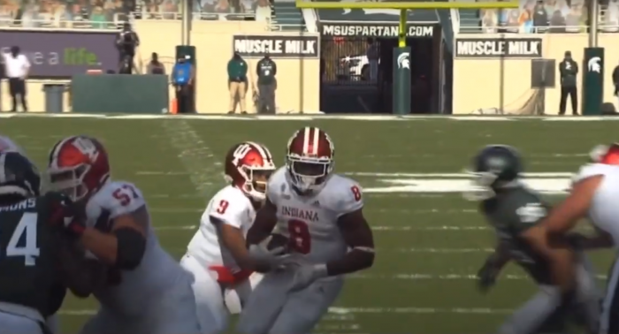 Matt Waldman's RSP Boiler Room: #Indiana RB Stevie Scott III's Pass-Pro Prowess