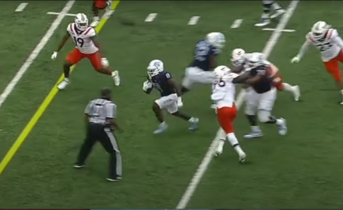 Matt Waldman's RSP Film Room No.206: The Refined Game of #UNC RB Michael Carter